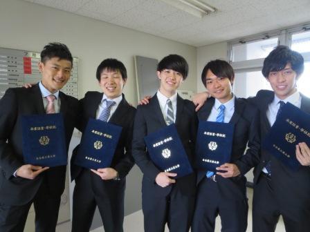 工大 式 名 卒業